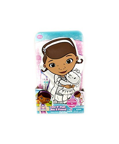 Color N' Style Doc McStuffins Pillow Doll to Decorate - 1