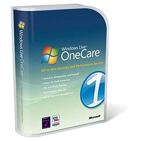 Windows Live OneCare - v 2.0 - Abonnement 1 an (3 postes)
