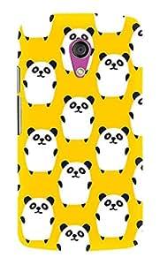 Artangle Yellow Panda Case for Motorola G2