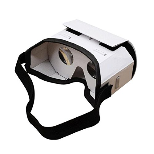 Kingfansion 3D Google VR Box Virtual Reality Glasses Cardboard Game Movie for Smart Phone