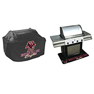 Buy Mr. Bar B Q NCAA Grill Cover and Grill Mat Set, Boston College Eagles by Mr. Bar-B-Q