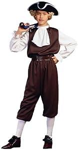 RG Costumes Colonial Boy, Child Medium/Size 8-10