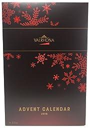 Valrhona 2016 Chocolate Square Advent Calendar 6.52 Oz