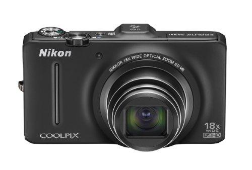 Nikon デジタルカメラ COOLPIX (クールピクス) S9300 ノーブルブラック S9300BK