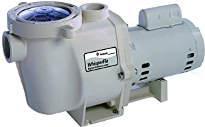 Pentair 347926 WhisperFlo High Performance Energy Efficient Pump, 1/2 Horsepower, 240/120 Volt, 1 Phase, 50 Hertz