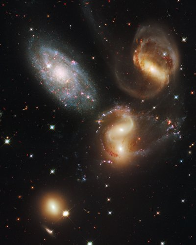 Hubble Space Telescope Photo Stephan'S Quintet Nasa Photos 8X10