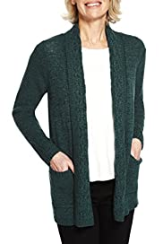 Tape Cable Knit Longline Cardigan [T58-8459-S]