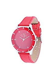 CAMERII Analogue Red Womens Watch - CWL540