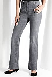 Fairtrade Cotton Rich Slim Bootcut Denim Jeans