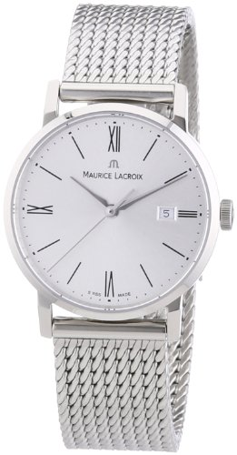 Maurice Lacroix C'Est La Fete EL1084 002-110 SS Women's Quartz Analogue Watch-Silver Stainless Steel Strap
