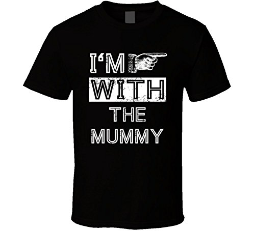 Im with Mummy Funny Stupid Couple Costume Halloween T Shirt
