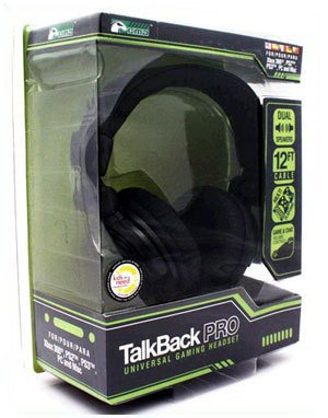 Kmd Talkback Pro Universal Gaming Headset Ps2/Ps3/360/Pc