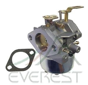 Tecumseh Carburetor For 632370a / 632370 / 632110 Fits Hm100 Hmsk90 Hmsk90 from EVEREST