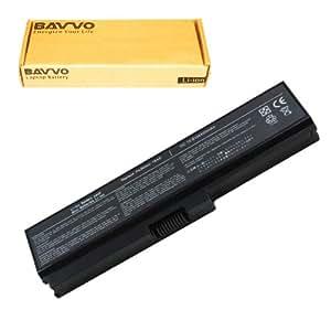 Bavvo 6-cell Laptop Battery forTOSHIBA Satellite A660,A660D,A665,A665D,C645D,C650,C650D,C655,C655D,L310,L515,L515D,L630,L635,L640,L640D,L645,L645D,L650,L650D,L655,L655D,L670,L670D,L675,L675D,M300,M305,M305D,M500,M505,M505D,M640,M645,T,T110,T115D,T130,T135D,U400,U405,U405D,U500,U505 Series,PN:TOSHIBA PA3634U-1BAS,PA3635U-1BAM,PA3635U-1BRM,PA3636U-1BRL,PA3638U-1BAP,PA3728U-1BRS,PA3818U-1BRS,PABAS117,PABAS178,PABAS228