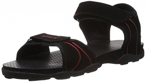 Sparx Sparx Men's Sandals ( SS-703-BLACK-RED) (Multicolor)