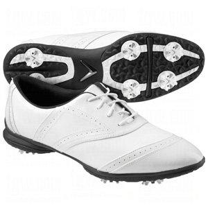 Callaway Footwear Women's Jacqui Golf Shoe,White/White,9 M US