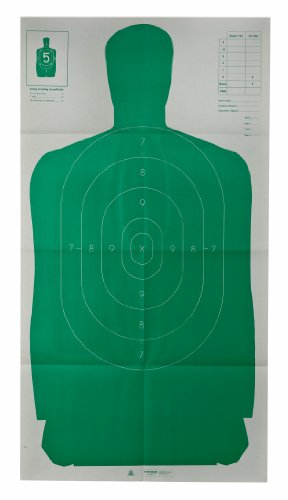 Champion LE 24x45-Inch Green Police B27FSA Silhouette Target (Pack of 10) (Shooting Targets 24x45 compare prices)
