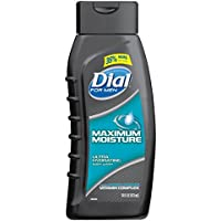 Dial Maximum Moisture with Moisturizing Vitamin Complex Mens Body Wash (16 Fluid Ounces)