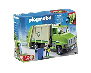 playmobil 5938 camion poubelle recycling truck jeux et jouets. Black Bedroom Furniture Sets. Home Design Ideas