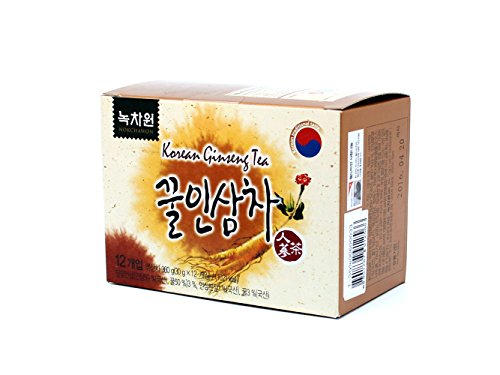 [Nokchawon] 100% Organic Oriental Tea Selections From Korea Ginseng Tea 12T