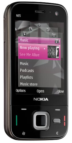 Nokia N85 Unlocked Phone  5 MP Camera, 3G, GPS,