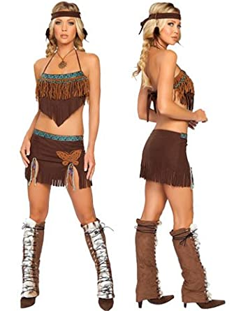 Sexy Native American Sweetie Costume - SMALL/MEDIUM