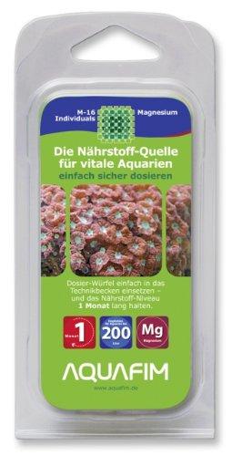Aquafim-M-16-Magnesium-Dosier-Wrfel-bis-200-L-Meerwasser-Aquarien-Aktive-Zeit-1-Monat