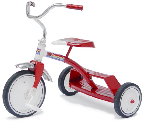 Morgan Cycle 10 inch Red Doublestep Tricycle Kestrel
