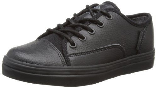 Quiksilver Boys Little Ballast Low-Top KTBSL062 Black/Black Gum 12 UK Child, 31 EU