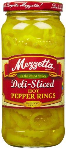Mezzetta Hot Banana Wax Peppers, Sliced, 16 oz (Mezzetta Hot Banana Wax Peppers compare prices)
