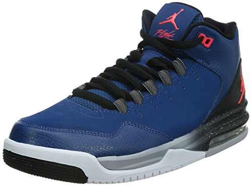 Nike Jordan Mens Flight Origin Basketball Shoe (French Blue/Infrared, 9) (Jordan New Shoes compare prices)