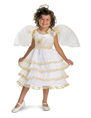 Baby-Toddler-Costume Angel Belle Toddler Costume 3T-4T Halloween Costume