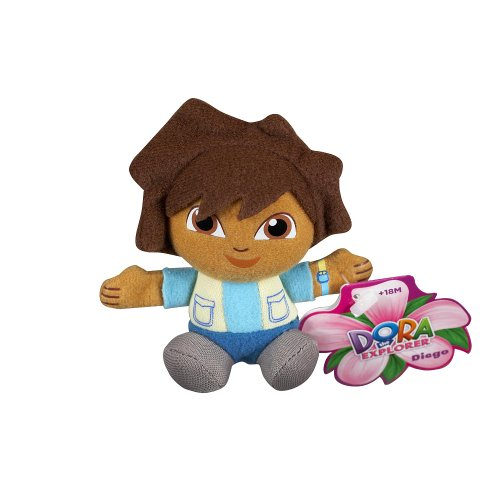 Fisher-Price Dora the Explorer Mini Plush - Diego - 1