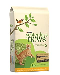 YESTERDAY'S S PRODUCTS 702305 Yesterday'S s Cat Litter, 30-Pound from Phillips Feed & Pet Supply