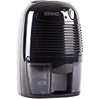Duronic DH05 Mini Black 500ml Air Dehumidifier - Perfect for small rooms and spaces