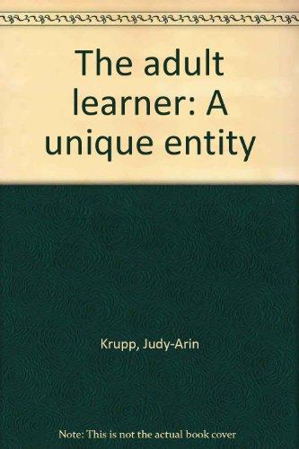 The adult learner: A unique entity PDF