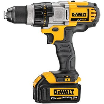 Factory-Reconditioned Dewalt Dcd980L2R 20V Max Cordless Lithium-Ion Premium 3-Speed Drill Driver Kit With 3.0 Ah Batteries