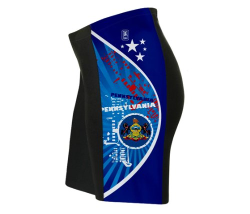 Buy Low Price Pennsylvania Cycling Shorts for Women (01-SR-150-PW)