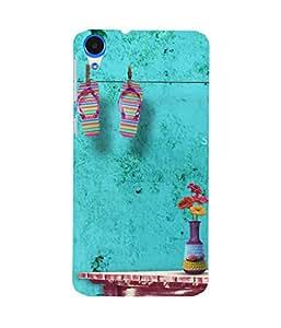 Summer Room Flowers HTC Desire 820 Case