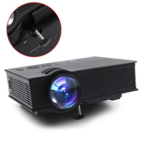 Tronfy multi media mini 800480 portable led projection for Micro portable projector