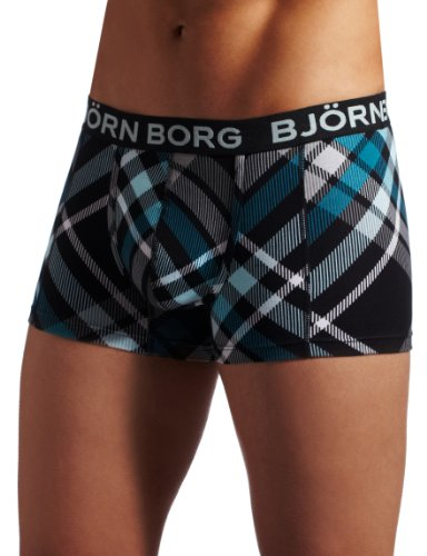 Bjorn Borg Men's Cyber Check Boxer Brief