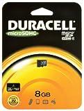 Duracell 8GB Class 4 Micro SDHC Card