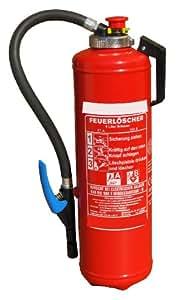Schaumlöscher Feuerlöscher 6 liter Auflade-Kartuschenlöscher 27A, 183B, 9 Löscheinheiten