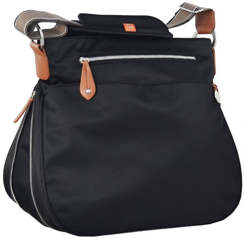 PacaPod Baby Changing Bag - Portland - Black