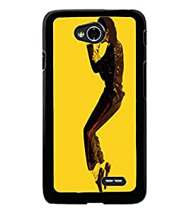 PrintDhaba MJ D-3892 Back Case Cover for LG L90 (Multi-Coloured)