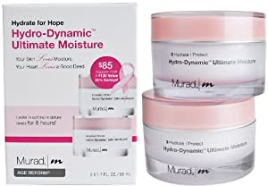 Murad Age Reform Hydro-dynamic Ultimate Moisture Limited Edition Hydrate for Hope Duo 2 Package