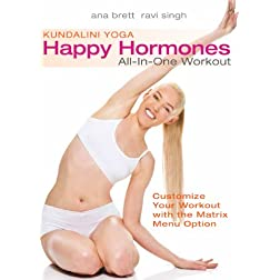 Kundalini Yoga: Happy Hormones All-In-One Workout (ALL LEVELS) with Ana Brett and Ravi Singh