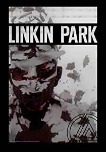 Linkin Park - Living Things - Posterflagge 100% Polyester - Grösse 75x110 cm
