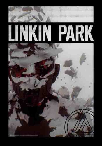 Linkin Park Living Things -  - Bandiera Poster 100% poliestere - dimensioni 75 x 110 cm