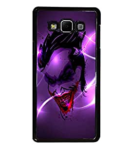 PrintDhaba Joker D-2836 Back Case Cover for SAMSUNG GALAXY A7 (Multi-Coloured)